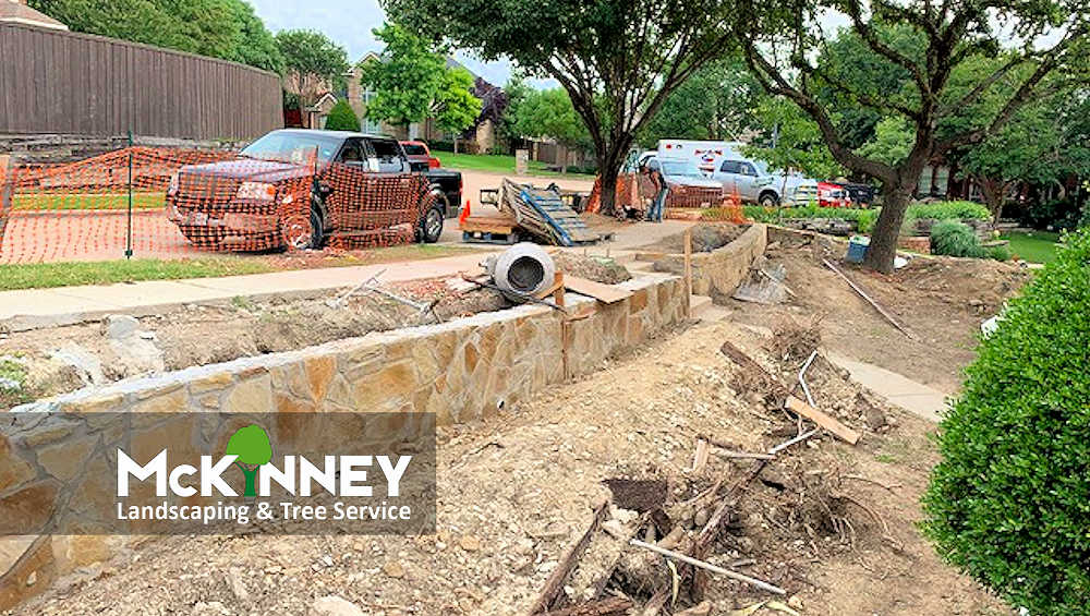 Gallery - Cement, Concrete, & Masonry: Retaining Wall Side