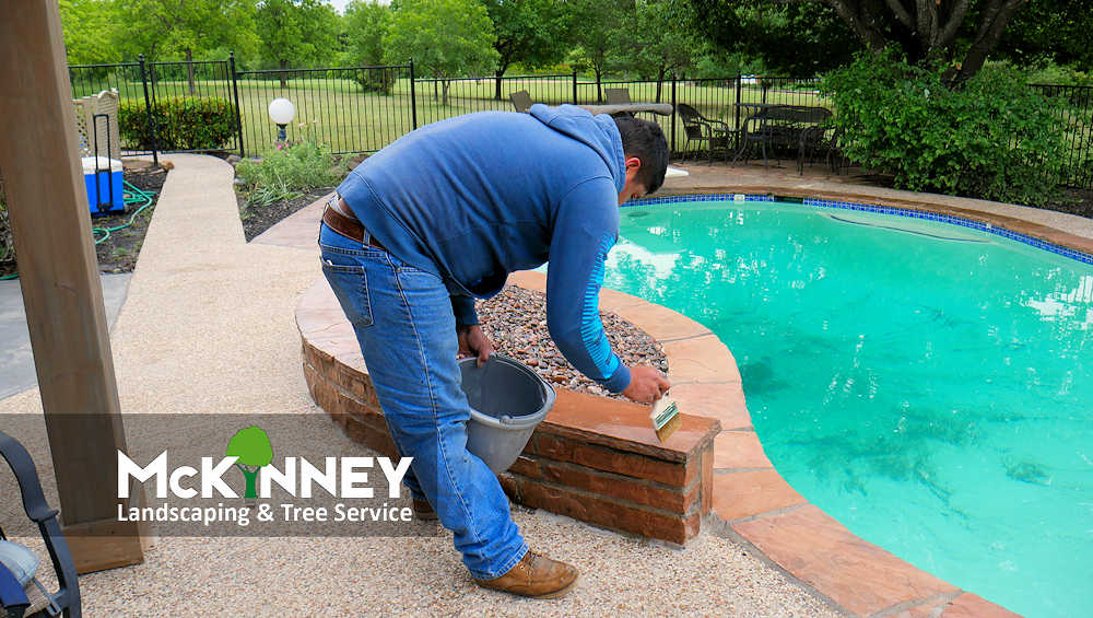 Gallery - Cement, Concrete, & Masonry: Stone Staining