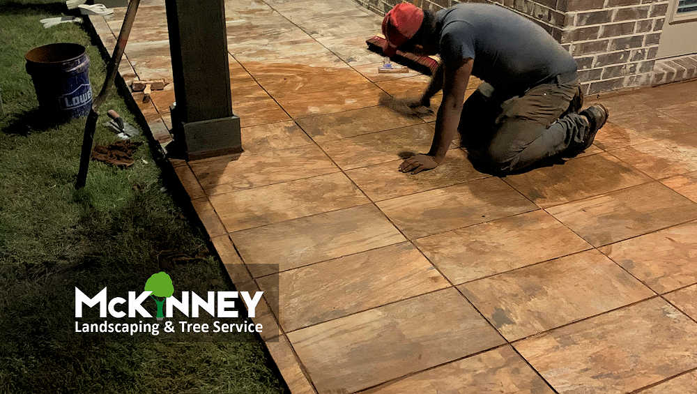 Gallery - Cement, Concrete, & Masonry: Staining Tile